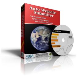 GSA Auto Website Submitter demo like full